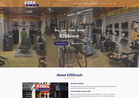 Ezee Cash Website
